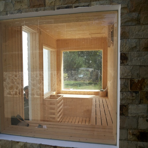 Ruang Sauna Kaca